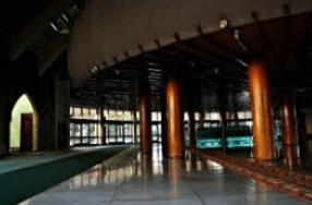 interior Masjid Jami' Kampung Baru Inpak