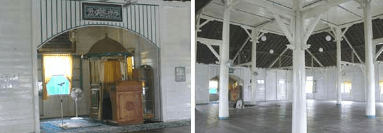 interior Masjid Jamik Sultan Nata