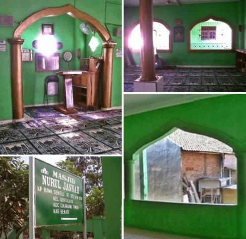 interior Msjid Nurul Jannah Rawa Sentul
