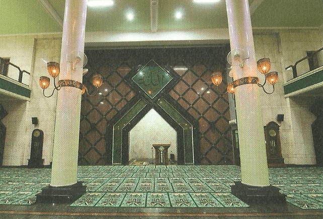 interior masjid agung ciamis