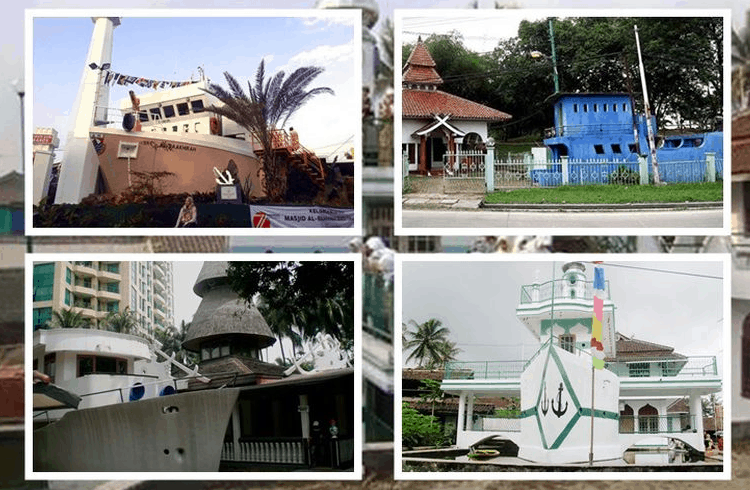 4 Masjid Berbentuk Perahu Di Indonesia
