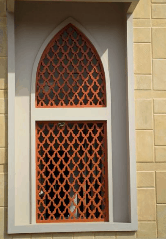 Krawangan GRC Pada Jendela Dan Fasade Masjid