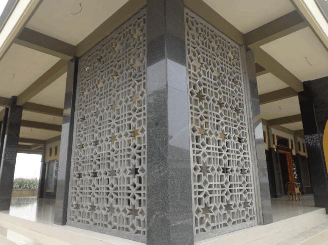 Krawangan GRC Sebagai Panel Dekorasi Ruangan