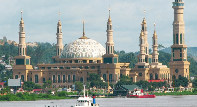 kubah masjid NTB 1