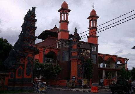 kubah masjid bali