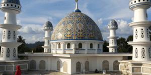 kubah masjid bangka belitung 1