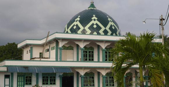 kubah masjid banten