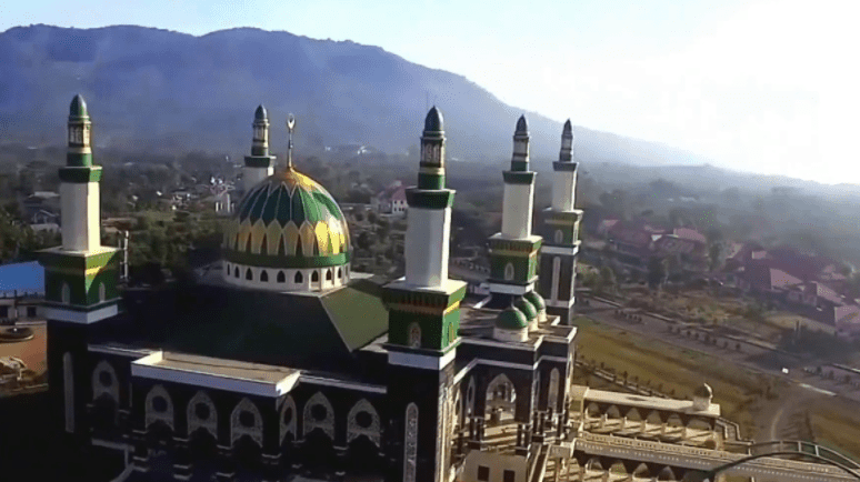 kubah masjid bengkulu
