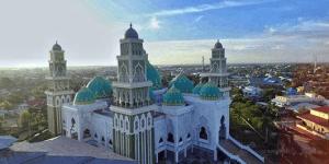 kubah masjid kalbar 1