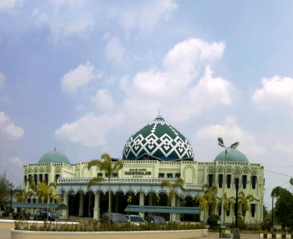 kubah masjid kalsel 2