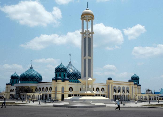 kubah masjid kalsel