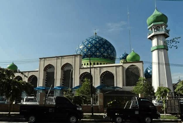 kubah masjid kalteng 1
