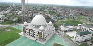 kubah masjid kalteng