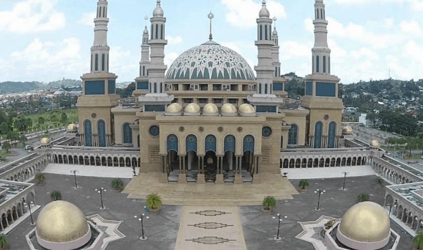 kubah masjid kaltim 1
