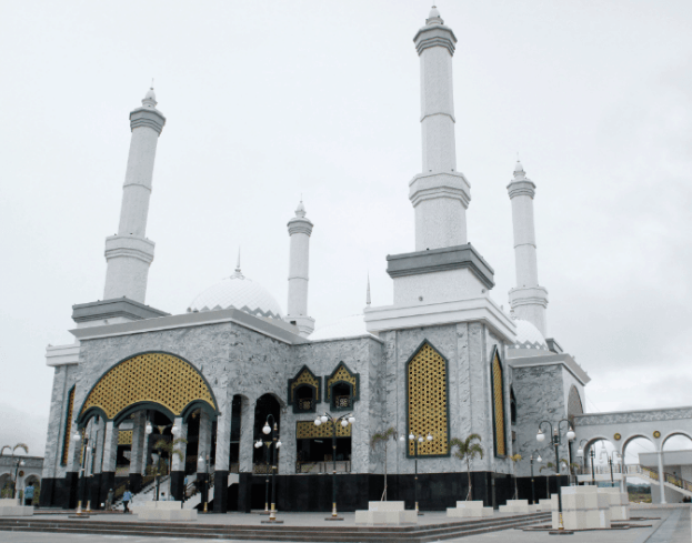 kubah masjid kalut 1