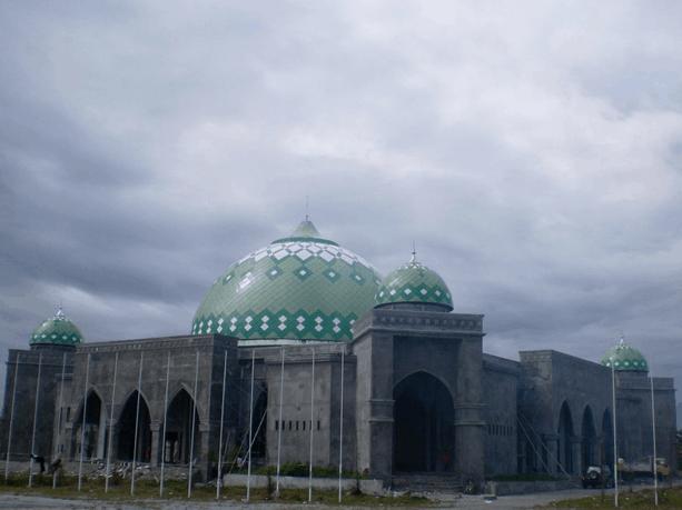 kubah masjid maluku utara 1