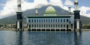 kubah masjid maluku utara