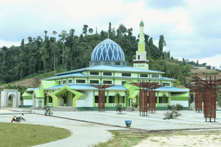 kubah masjid papua barat 1