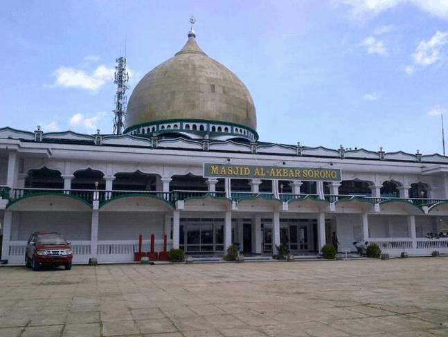 kubah masjid papua barat
