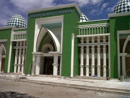 kubah masjid sulbar 2