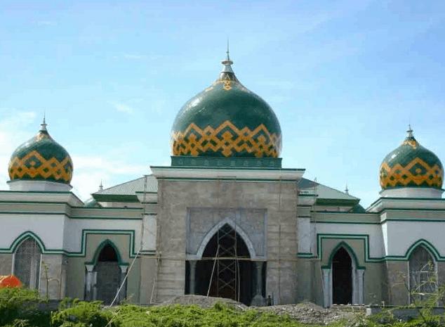 kubah masjid sulteng