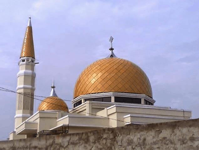 kubah masjid sumsel 1
