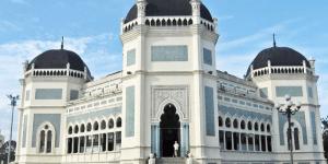 kubah masjid sumut 1