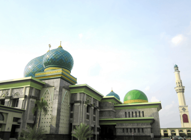 kubah masjid sumut