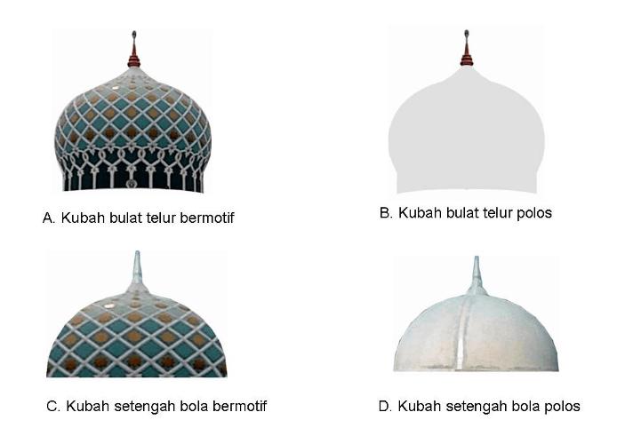 kubah mushola masjid