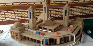 miniatur kubah
