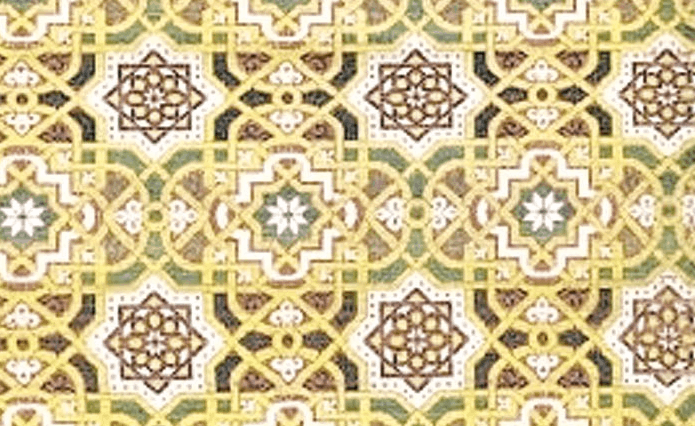 ornamen geometris
