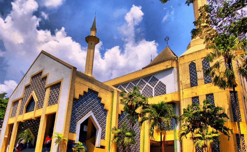 Warna Masjid Bagus Nusagates
